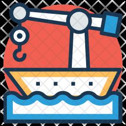 Ship Crane Icon