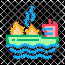 Ship Fire Icon