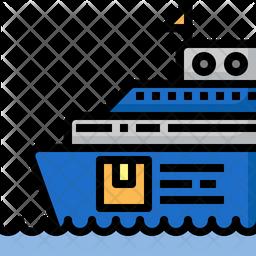 Ship logistic Icon