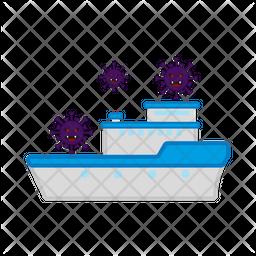 Ship Spread Virus Icon