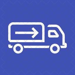 Shipment Line Icon