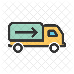 Shipment Colored Outline Icon