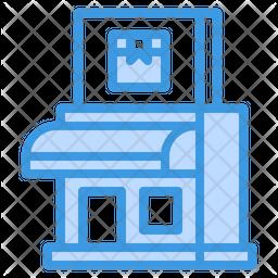 Shipment Office Icon