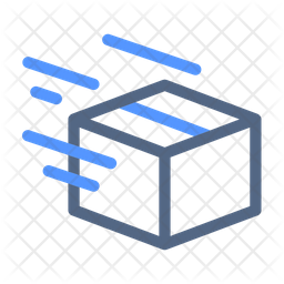 Shipped Line Icon