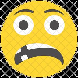 Shocked Emoji Icon