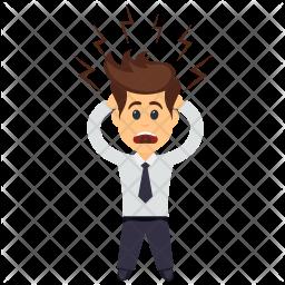 Shocked Businessman Icon