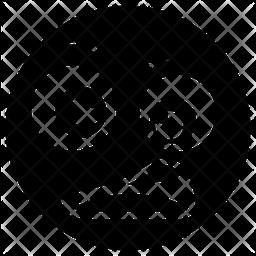 Shocked Emoticon Icon