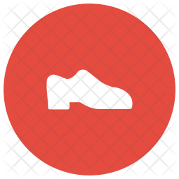 Shoes Glyph Icon