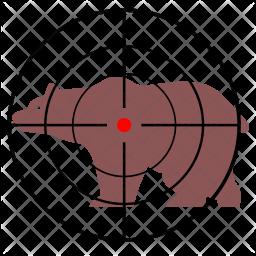 Shoot bear Icon