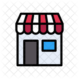 Shop Icon Of Colored Outline Style Available In Svg Png Eps Ai Icon Fonts
