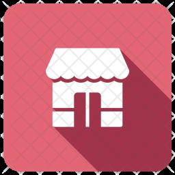 Shop Glyph Icon