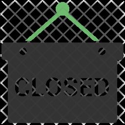 Shop Closeed Icon