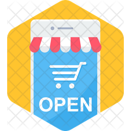 Shop Opening Icon