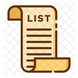 Shoping List Icon