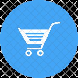 Shopping Glyph Icon