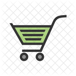 Shopping Colored Outline Icon