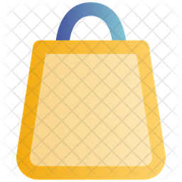 Shopping Bag Gradient Icon