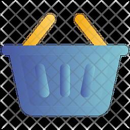 Shopping Basket Gradient Icon
