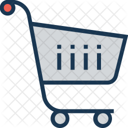 Shopping cart Colored Outline Icon