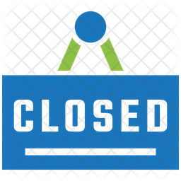 Shopping closed Icon