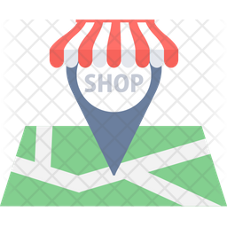 Shopping Location Icon
