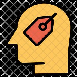 Shopping Mind Icon