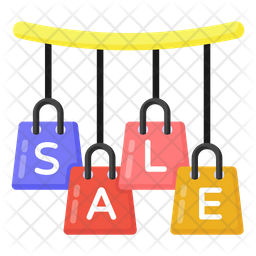 Shopping Sale Flat Icon