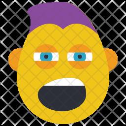 Shout Emoji Icon