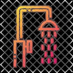 Shower Gradient Icon