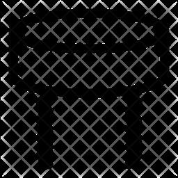 Shtreimel Line Icon
