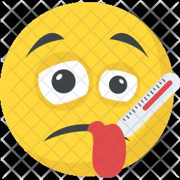 Sick Emoji Icon