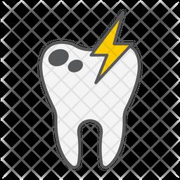 Sick Teeth Icon