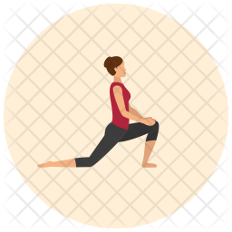 Side lunge Icon