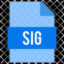 Sig file Icon