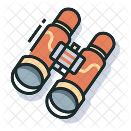 Sightseeing Colored Outline Icon