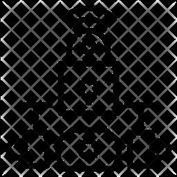Signal lock Icon