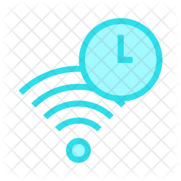 Signal timeout Colored Outline Icon