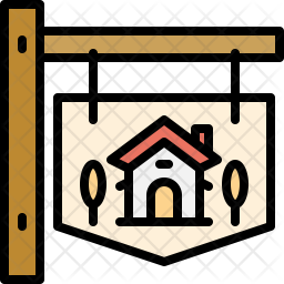 Signboard Icon