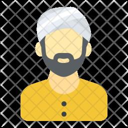 Sikh Flat Icon