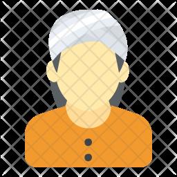 Sikh Man Flat Icon