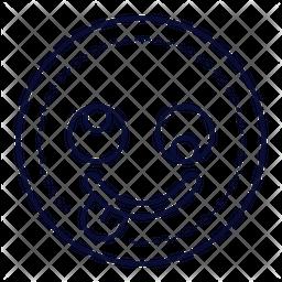Silly Line  Emoji Icon