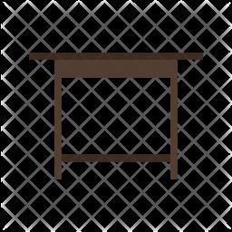 Simple desk Icon