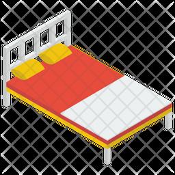 Single Bed Icon