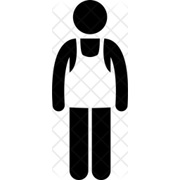 Singlet Glyph Icon