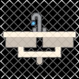 Washbasin Icon