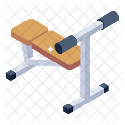 Sit up Bench Icon