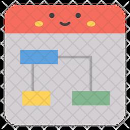 Sitemap Emoji Icon