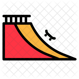 Skateboard Ramp Icon