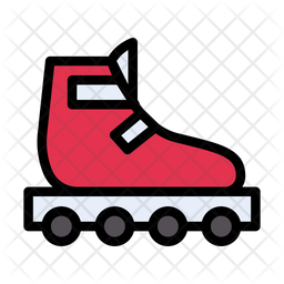 Skating Shoe Icon Of Colored Outline Style Available In Svg Png Eps Ai Icon Fonts