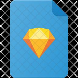 Sketch file Flat Icon